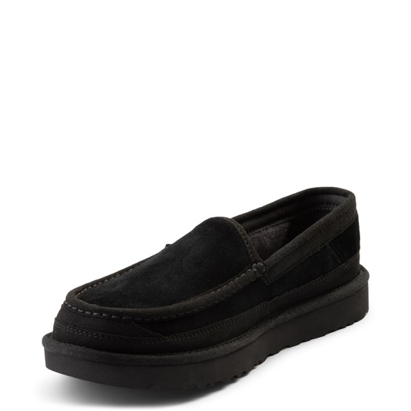 alternate view Mens UGG® Dex Slip On Casual Shoe - BlackALT3