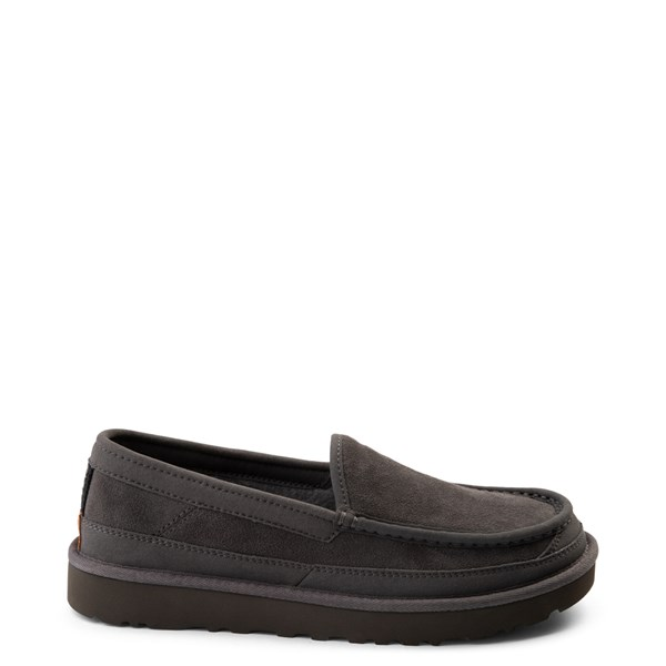 Mens UGG® Dex Slip On Casual Shoe - Dark Gray