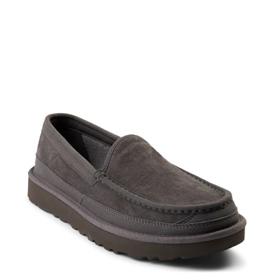 Alternate view of Mens UGG® Dex Slip On Casual Shoe - Dark Gray