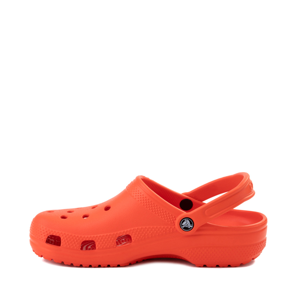 alternate view Crocs Classic Clog - TangerineALT1