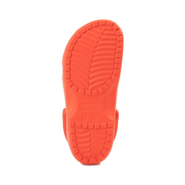 alternate view Crocs Classic Clog - TangerineALT3