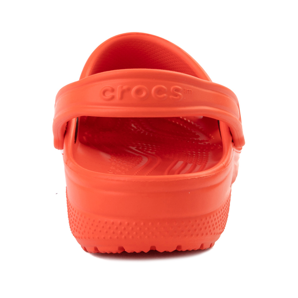 alternate view Crocs Classic Clog - TangerineALT4