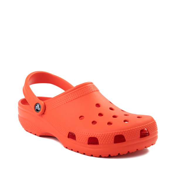 alternate view Crocs Classic Clog - TangerineALT5