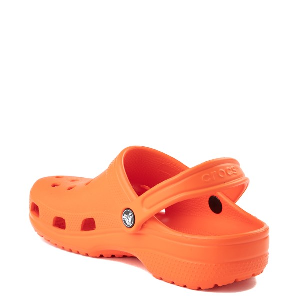 alternate view Crocs Classic Clog - TangerineALT2