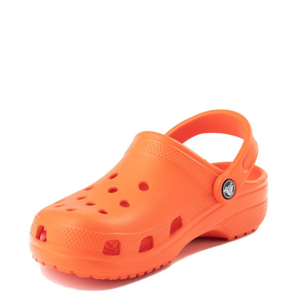 alternate view Crocs Classic Clog - OrangeALT3