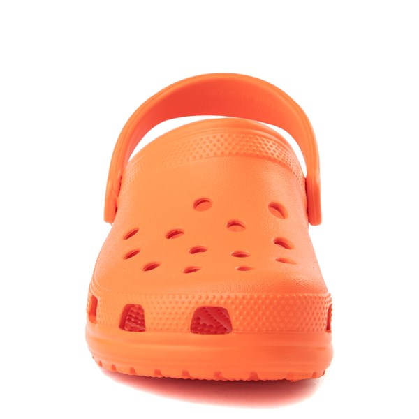 alternate view Crocs Classic Clog - OrangeALT4