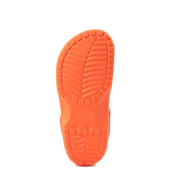 alternate view Crocs Classic Clog - OrangeALT5