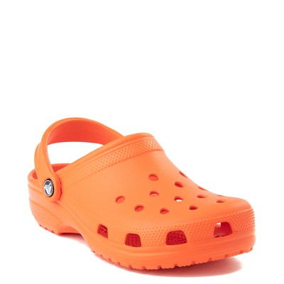 Alternate view of Crocs Classic Clog in Tangerine