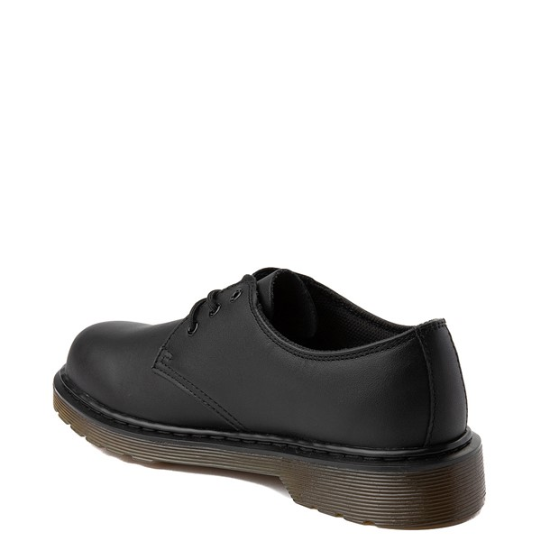 alternate view Dr. Martens 1461 Casual Shoe - Little Kid / Big Kid - Black MonochromeALT1