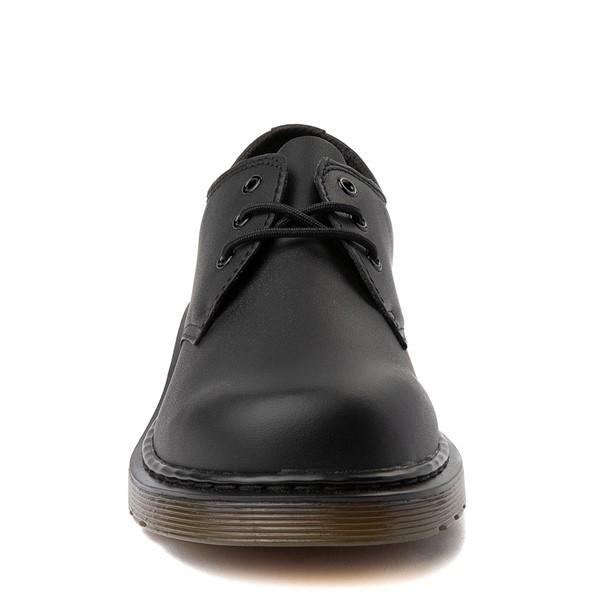 alternate view Dr. Martens 1461 Casual Shoe - Little Kid / Big Kid - Black MonochromeALT4