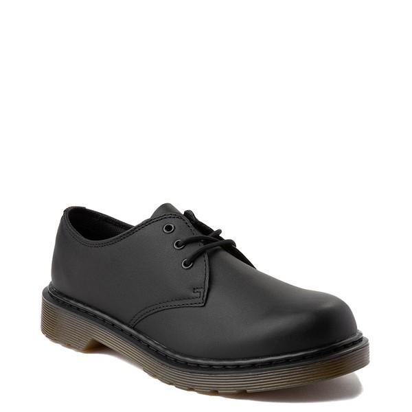 alternate view Dr. Martens 1461 Casual Shoe - Little Kid / Big Kid - Black MonochromeALT5