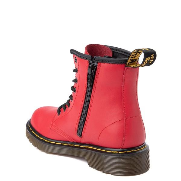alternate view Dr. Martens 1460 8-Eye Color Pop Boot - Little Kid / Big Kid - Bright RedALT2