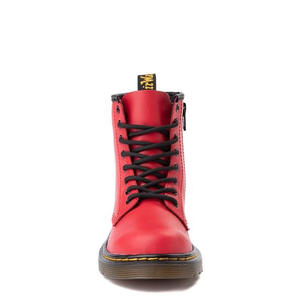 alternate view Dr. Martens 1460 8-Eye Color Pop Boot - Little Kid / Big Kid - Bright RedALT4