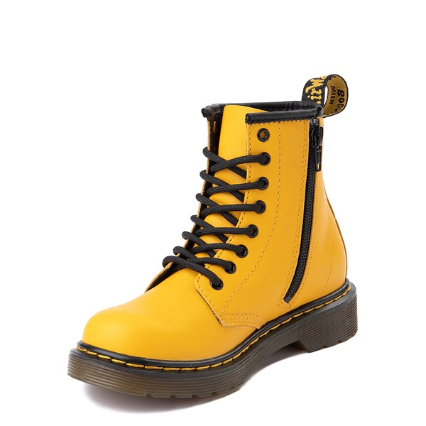 alternate view Dr. Martens 1460 8-Eye Color Pop Boot - Little Kid / Big KidALT3