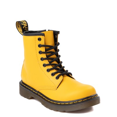 Alternate view of Dr. Martens 1460 8-Eye Color Pop Boot - Little Kid / Big Kid - Yellow