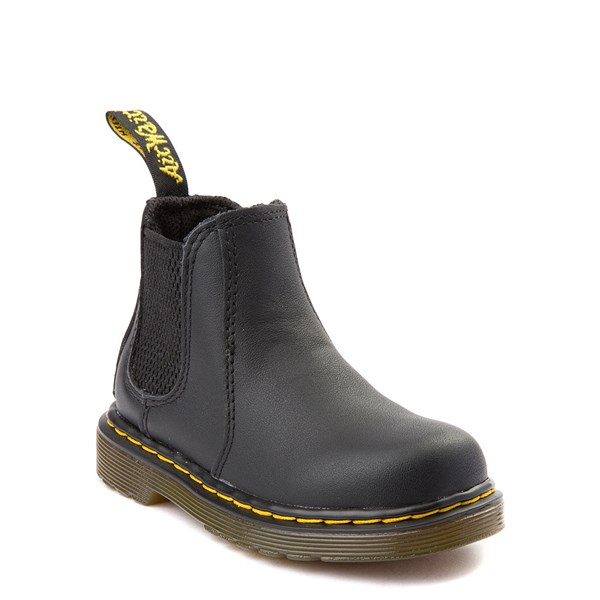 alternate view Dr. Martens 2976 Chelsea Boot - Baby / Toddler - BlackALT1