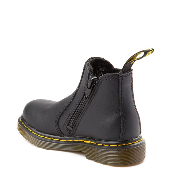 alternate view Dr. Martens 2976 Chelsea Boot - Baby / Toddler - BlackALT2