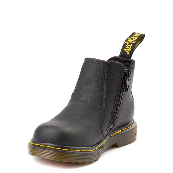alternate view Dr. Martens 2976 Chelsea Boot - Baby / Toddler - BlackALT3