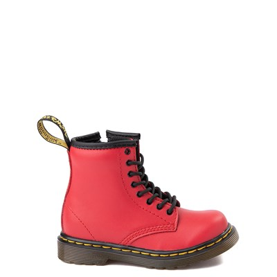 Main view of Dr. Martens 1460 8-Eye Color Pop Boot - Toddler - Bright Red
