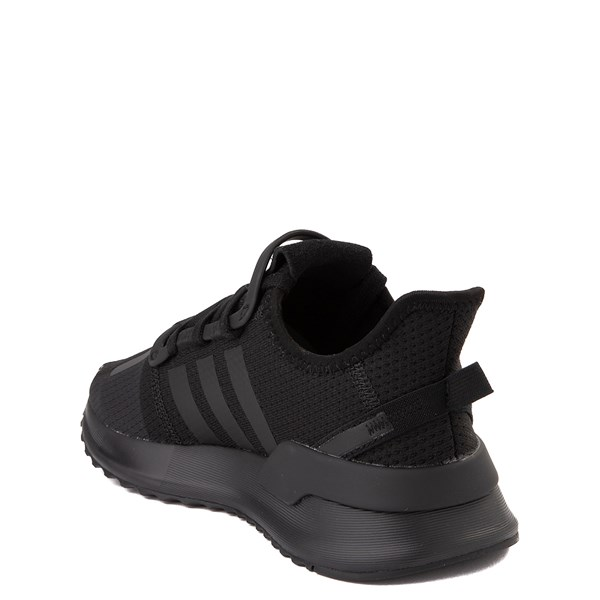 alternate view adidas U_Path Run Athletic Shoe - Little Kid - Black MonochromeALT2