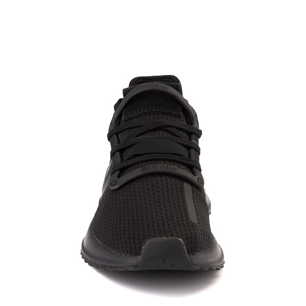alternate view adidas U_Path Run Athletic Shoe - Little Kid - Black MonochromeALT4