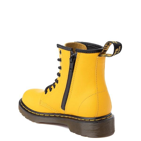 alternate view Dr. Martens 1460 8-Eye Color Pop Boot - Big Kid - YellowALT2
