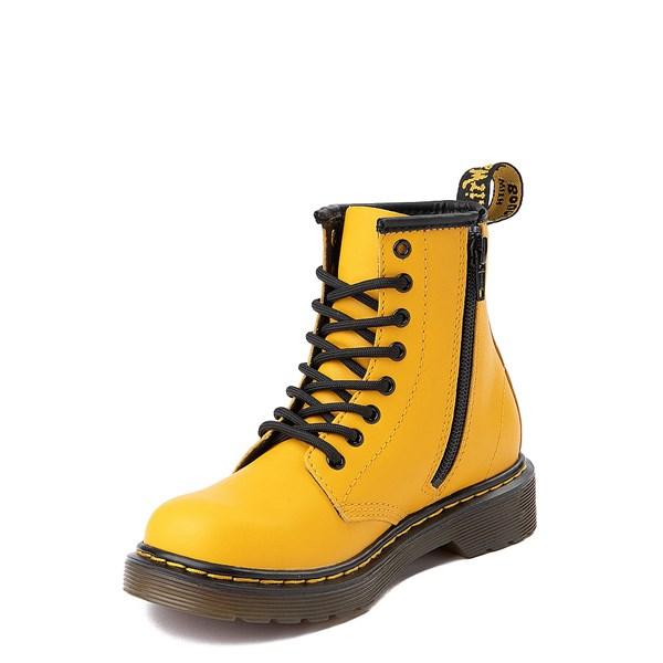 alternate view Dr. Martens 1460 8-Eye Color Pop Boot - Big Kid - YellowALT3