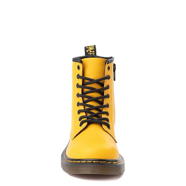 alternate view Dr. Martens 1460 8-Eye Color Pop Boot - Big Kid - YellowALT4