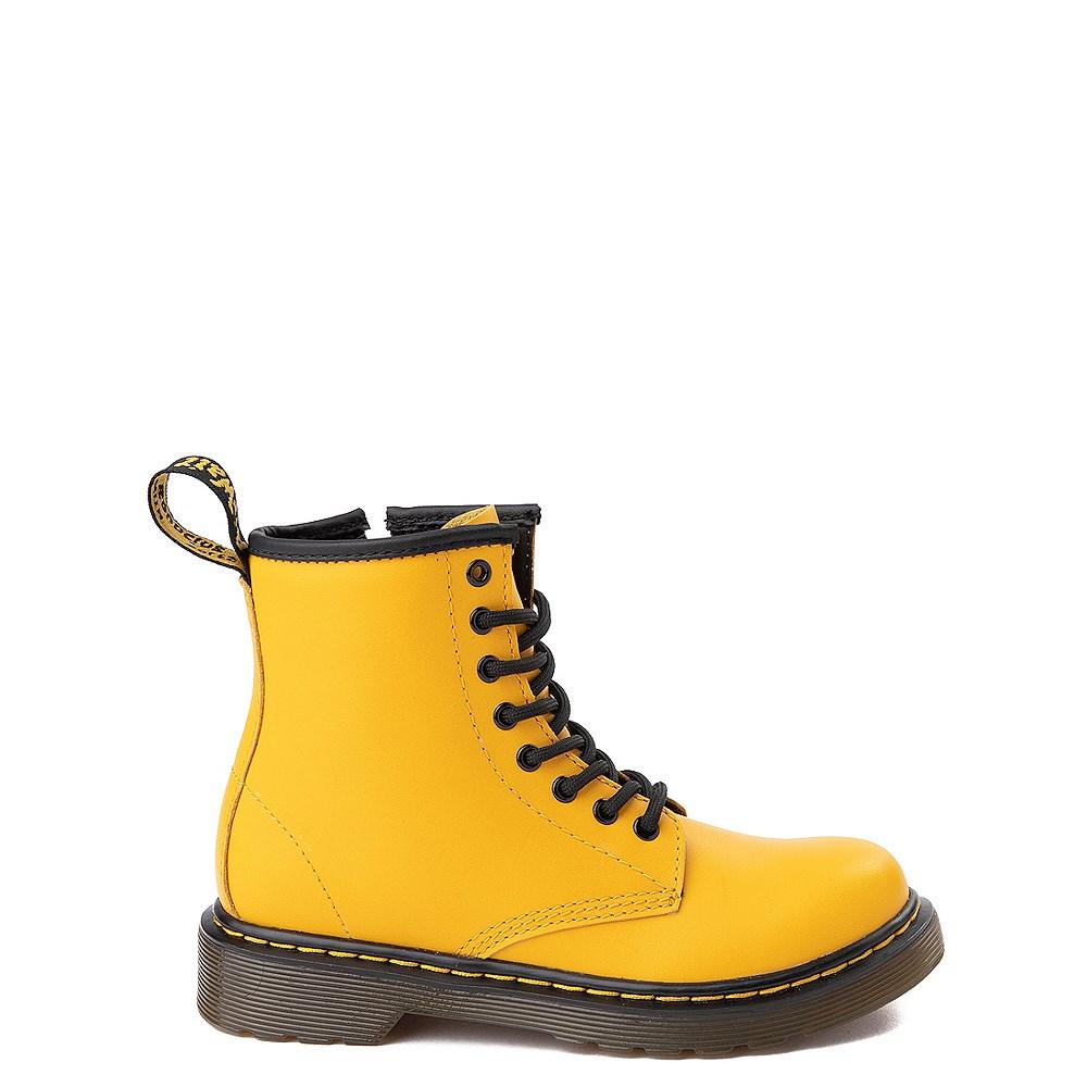 Dr. Martens 1460 8-Eye Color Pop Boot - Big Kid - Yellow