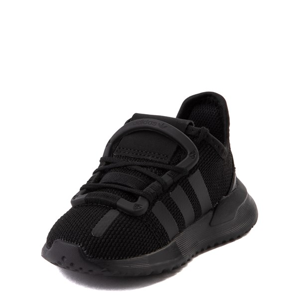 alternate view adidas U_Path Run Athletic Shoe - Baby / Toddler - Black MonochromeALT3