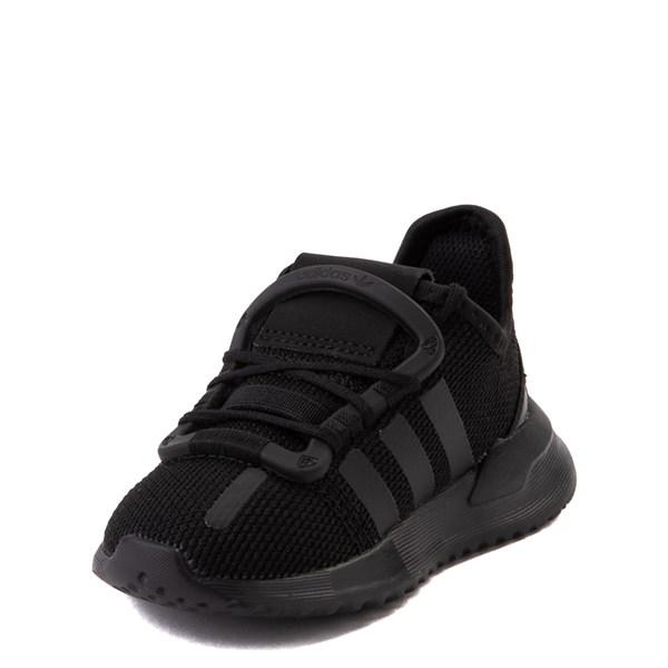 alternate view adidas U_Path Run Athletic Shoe - Baby / Toddler - Black MonochromeALT3