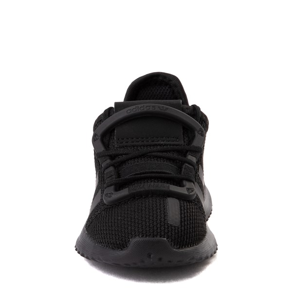 alternate view adidas U_Path Run Athletic Shoe - Baby / Toddler - Black MonochromeALT4