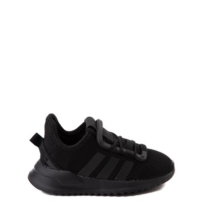 Main view of adidas U_Path Run Athletic Shoe - Baby / Toddler - Black Monochrome