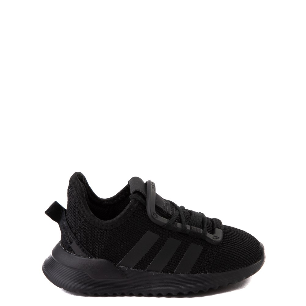 adidas U_Path Run Athletic Shoe - Baby / Toddler - Black Monochrome