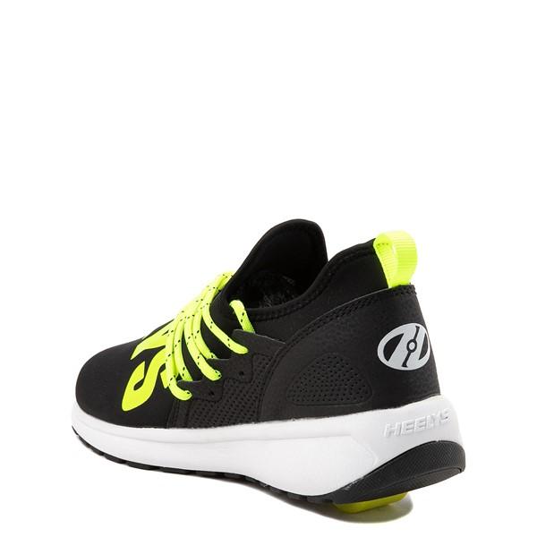 alternate view Heelys Navigator Skate Shoe - Little Kid / Big Kid - Black / YellowALT1