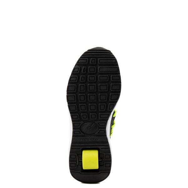 alternate view Heelys Navigator Skate Shoe - Little Kid / Big Kid - Black / YellowALT3