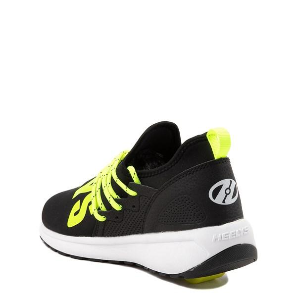 alternate view Heelys Navigator Skate Shoe - Little Kid / Big Kid - Black / YellowALT2