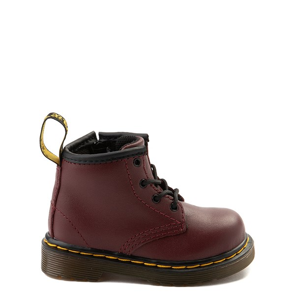 Main view of Dr. Martens 1460 4-Eye Boot - Baby / Toddler - Cherry Red