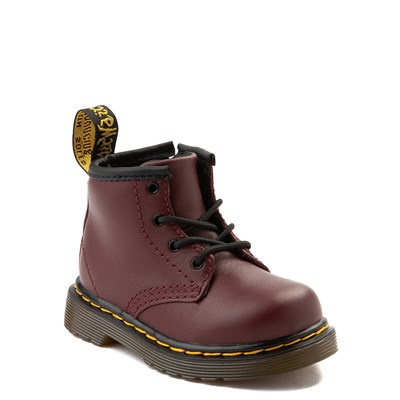 Alternate view of Dr. Martens 1460 4-Eye Boot - Baby / Toddler - Cherry Red