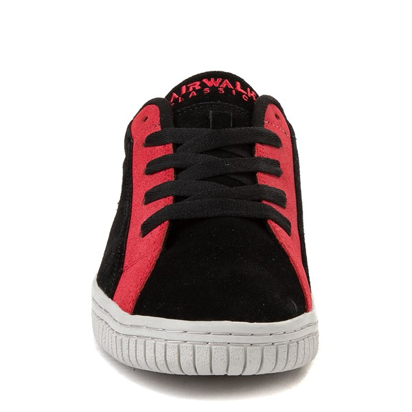 alternate view Mens Airwalk The Chance Skate Shoe - Black / RedALT4