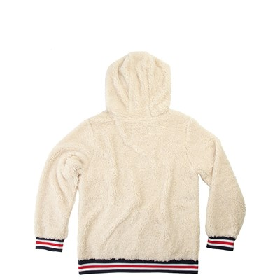 Alternate view of Fila Sherpa Hoodie - Little Kid / Big Kid - Natural