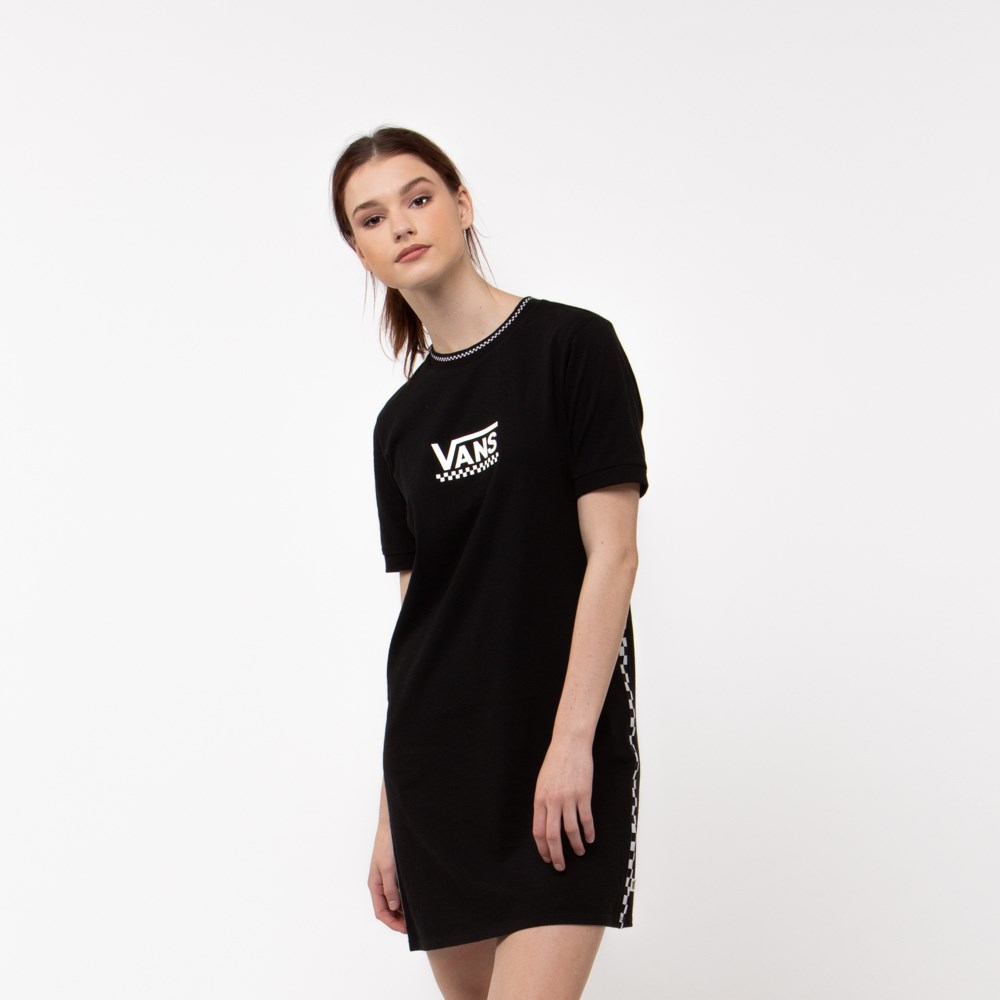 Womens Vans High Roller Dress - Black