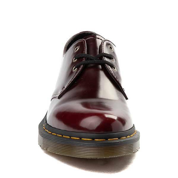alternate view Dr. Martens 1461 Vegan Casual Shoe - BurgundyALT4