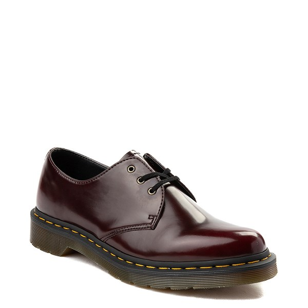 alternate view Dr. Martens 1461 Vegan Casual Shoe - BurgundyALT1