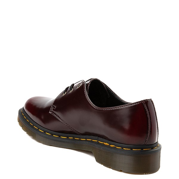 alternate view Dr. Martens 1461 Vegan Casual Shoe - BurgundyALT2