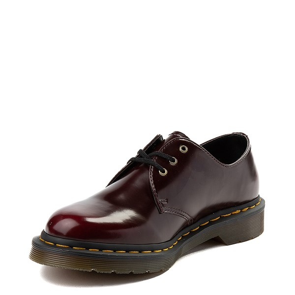 alternate view Dr. Martens 1461 Vegan Casual Shoe - BurgundyALT3
