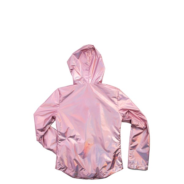 alternate view Shiny Windbreaker Jacket - Girls Little KidALT1