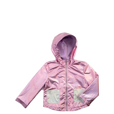 Main view of Shiny Windbreaker Jacket - Girls Toddler