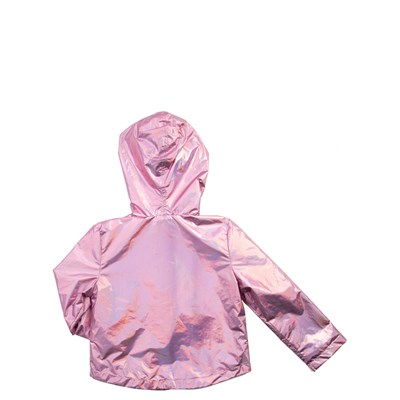 Alternate view of Shiny Windbreaker Jacket - Girls Toddler