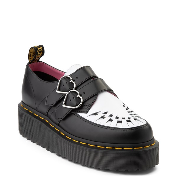 alternate view Womens Dr. Martens x Lazy Oaf Buckle Creeper Casual ShoeALT1